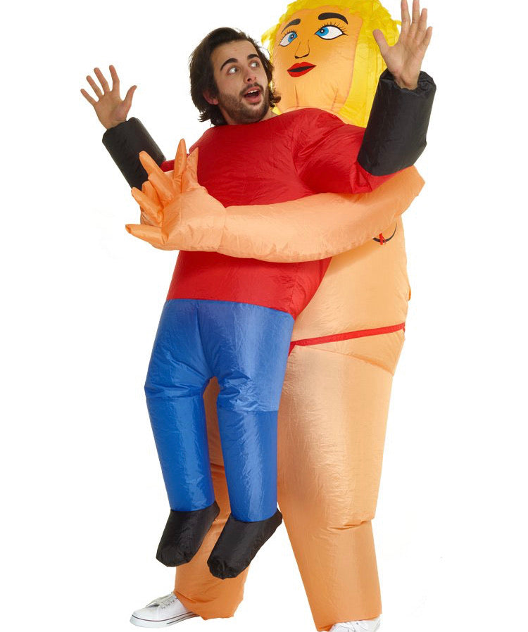 Inflatable Pick Me Up Stripper - Adult Costume
