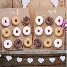 Load image into Gallery viewer, Ginger Ray Kraft Donut Set of 2