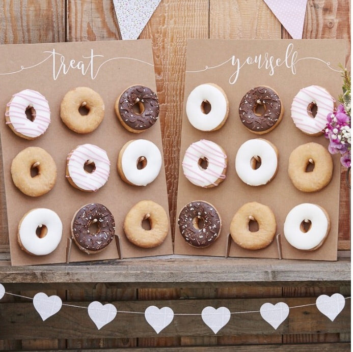 Ginger Ray Kraft Donut Set of 2