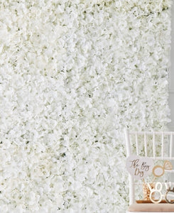 Ginger Ray White Flower Wall Tile Decoration