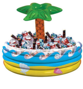 Inflatable Palm Tree Drinks Cooler - 72cm