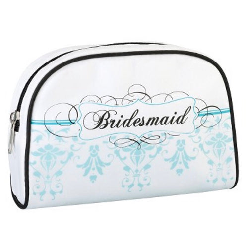 Lillian Rose Bridesmaid Aqua Make-up Bag