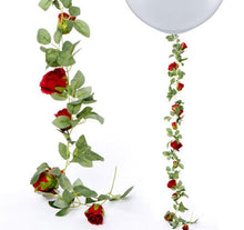 Load image into Gallery viewer, Red Rose Garland