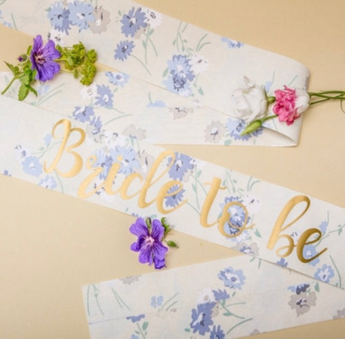 Nora & Katie Bride to be Boho Sash