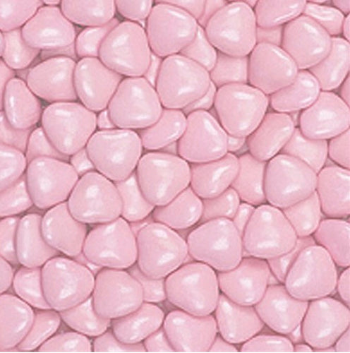Pink Chocolate Hearts 1kg