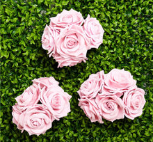 Load image into Gallery viewer, Pink Foam Rose Bud Decorations