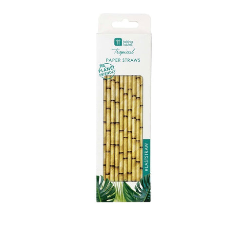 Talking Tables Eco Friendly Fiesta Bamboo Paper Straws