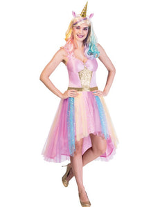 Mystic Unicorn - Adult Fancy Dress Costume Size Small