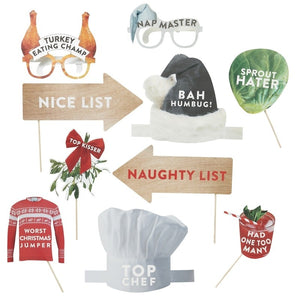Christmas Photo Booth Kit