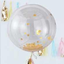 Load image into Gallery viewer, Ginger Ray Large confetti filled orb balloons
