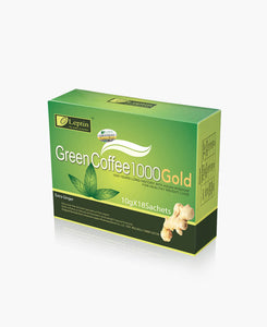Leptin Green Coffee 1000 Gold (with Ginger) - 12 units