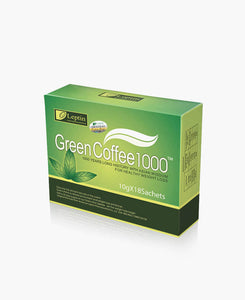 Leptin Green Coffee 1000 - 12 units