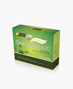 Leptin Green Coffee 800 - 100 units