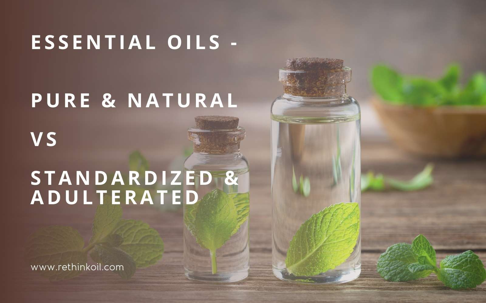 ReThinkOil Blog Pure Natural Essential Oils