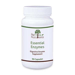 ReThinkOil ReThinkNutrients Essential Enzymes Bottle