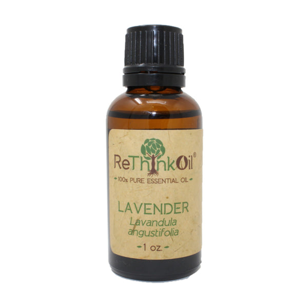 ReThinkOil Lavender Oil Bottle