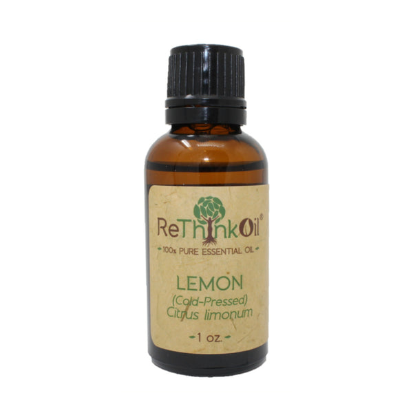 ReThinkOil Lemon Oil Bottle