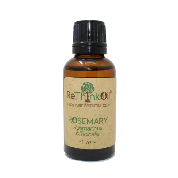 ReThinkOil Rosemary Oil Bottle