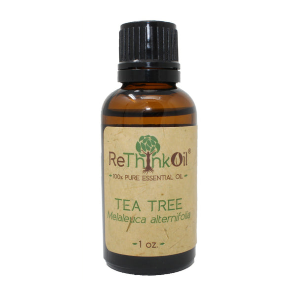 ReThinkOil Tea Tree Oil Bottle