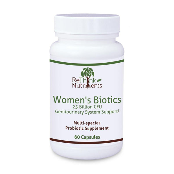 ReThinkOil ReThinkNutrients Women's Biotics Bottle