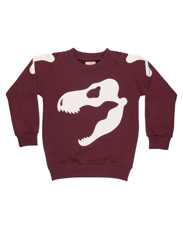 Scary Skull Sweatshirt 3-4 + 8-9Y LEFT
