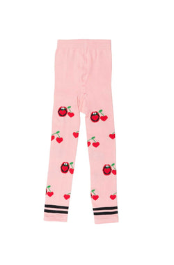 Cherry Snack Tights 6-12M, 1-2Y, 2-4Y LEFT