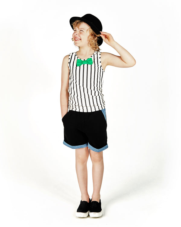 Pablo Striped Top 1-2, 3-4, 7-8Y Left