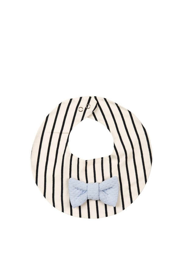 Bib Bow striped