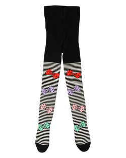 Multi Bow tights w. feet