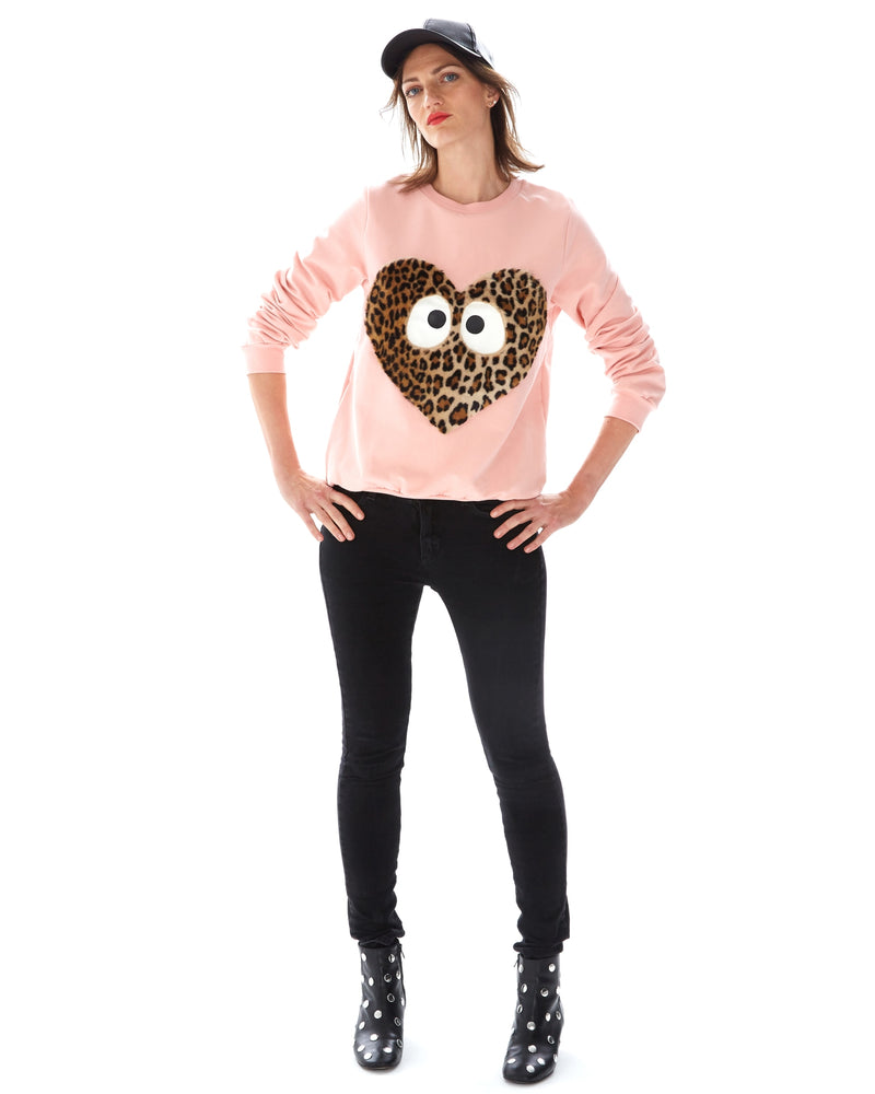 Heart Woman Sweatshirt