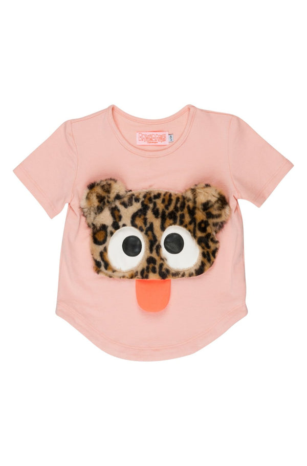 Cute Rebel Pink T-shirt Baby 68, 74, 80 Left