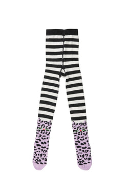 Leo Cat tights w. Feet