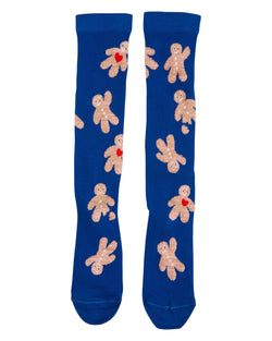 Gingerbread Man knee socks
