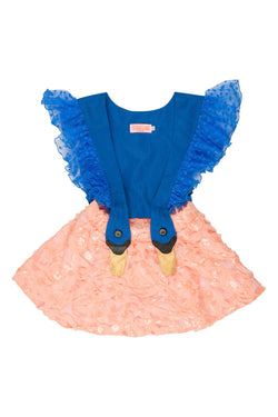 Bird Girl Frill Dress