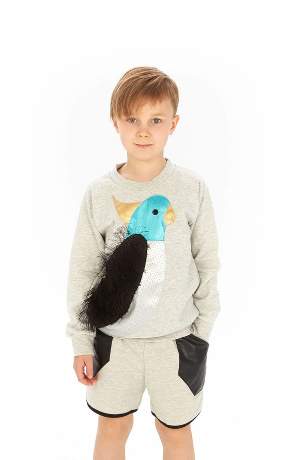 Tropical Sweatshirt Size 4-5Y up to 8-9Y LEFT