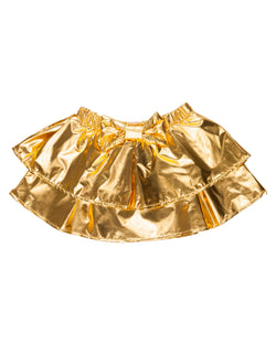 Fancy skirt Gold