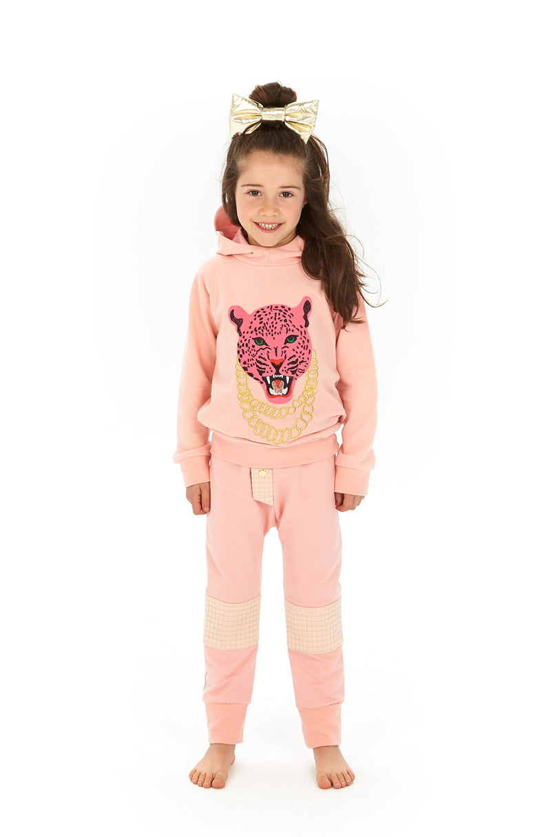 Pink panther Hoodie Size 2-3YUp to6-7Y + 8-9Y & 12-13Y LEFT