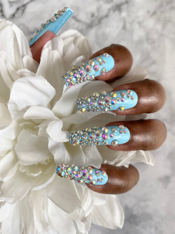 Ice Me Out press-on nails