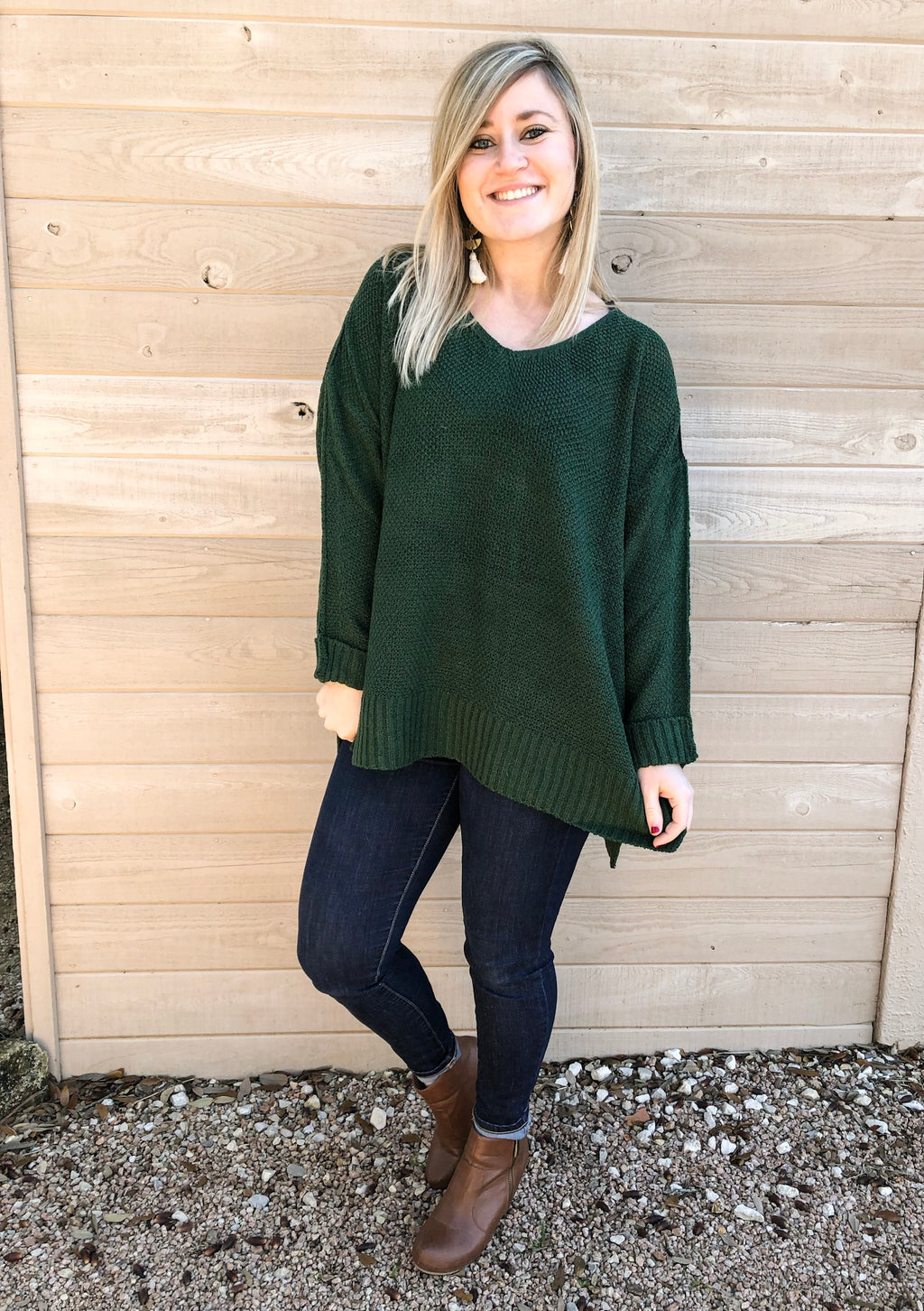 Everest Green Sweater