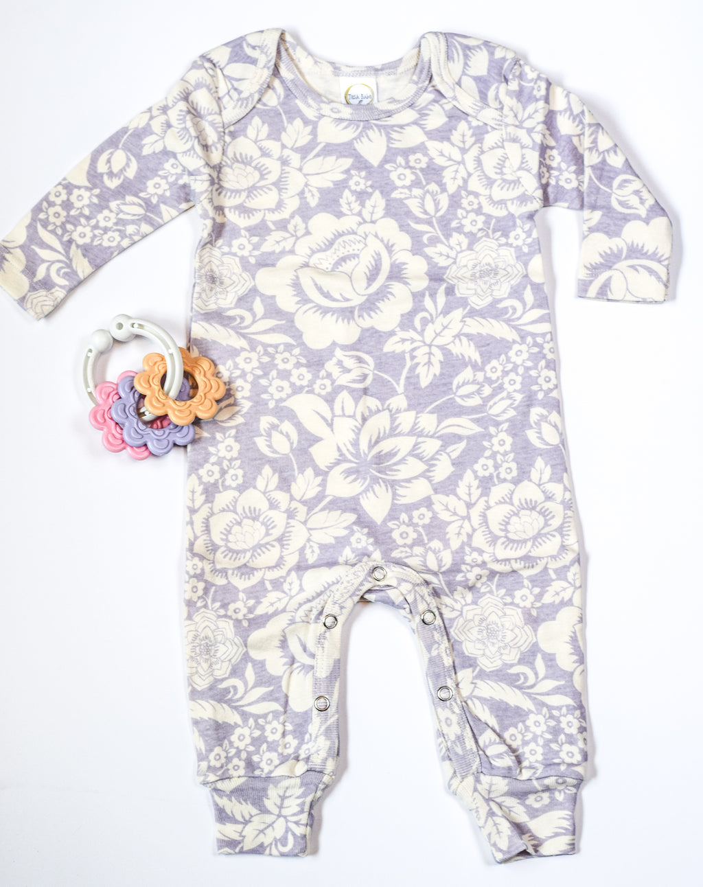 Lavender and Lovely Onesie