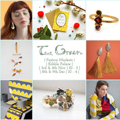 Tea Green Christmas Market, Kibble Palace Glasgow
