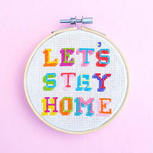 Let's Stay Home Kit - Pulp Stitchin'