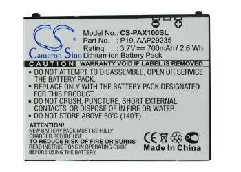 Panasonic P-01A P-02A P-03A P-07A P-08A P-09A P-10 Replacement Battery-4