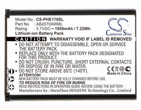 Philips CTE170 E170 Xenium E170 Replacement Battery