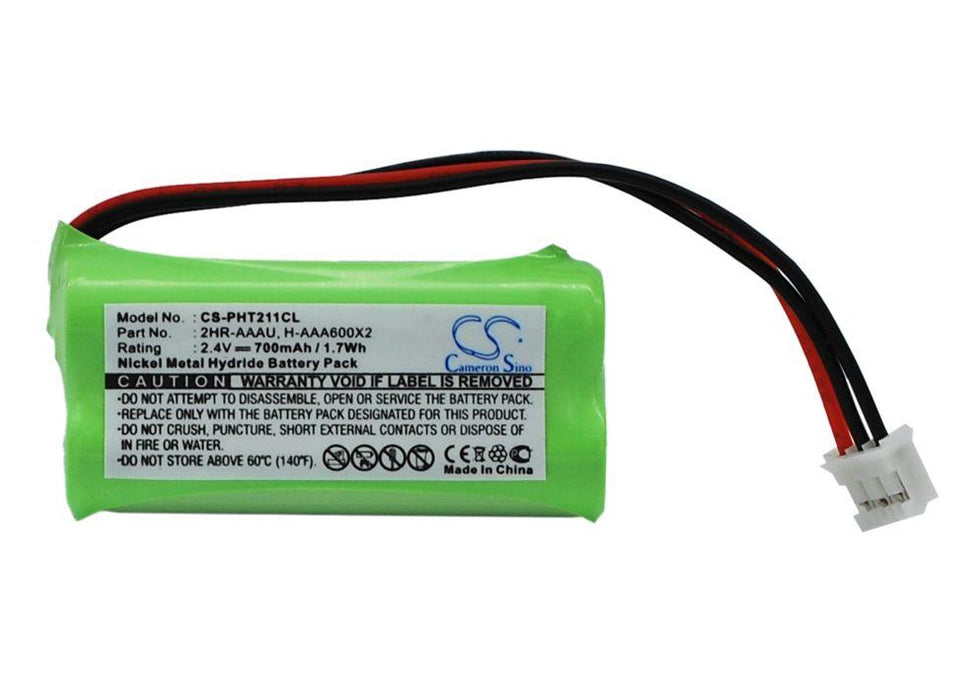 Philips 215 Quattro Aleor 300 DECT 211 Dect 211 Du Replacement Battery