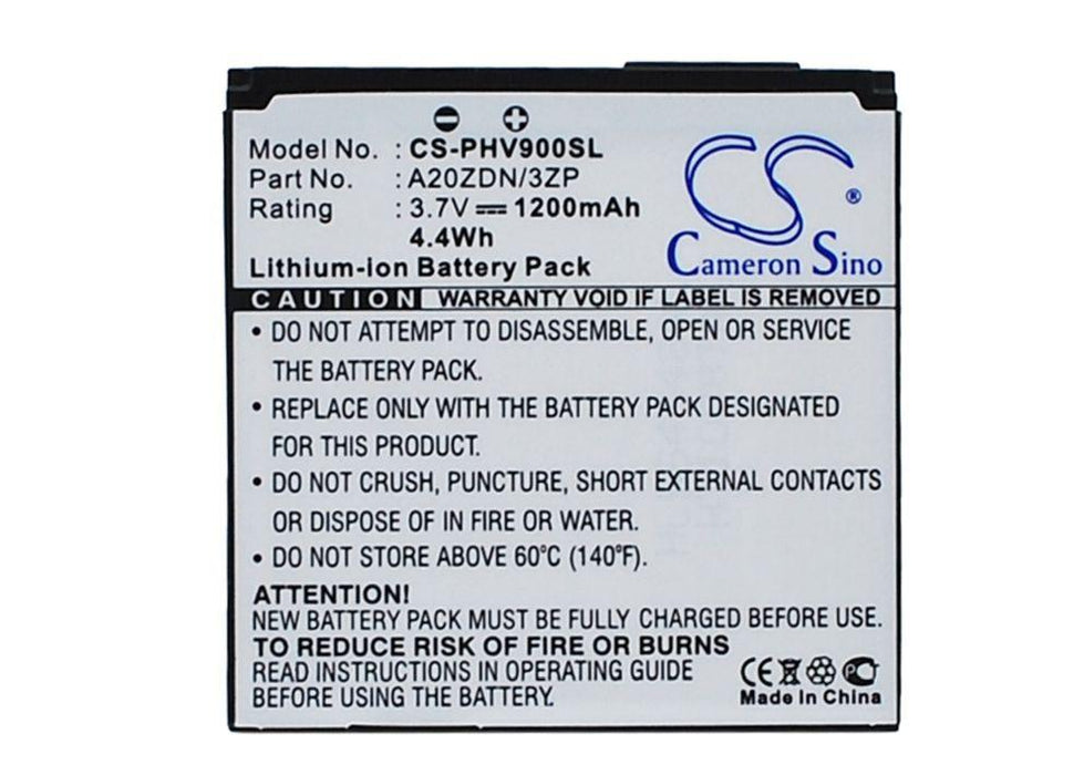 Philips Xenium V900 Replacement Battery