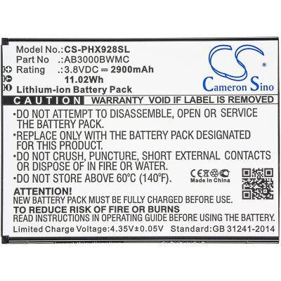 Philips Xenium i928 Replacement Battery-3