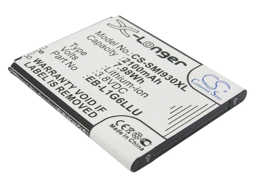 Samsung Baffin Galaxy S 3 Galaxy S 3 Black 2100mAh Replacement Battery