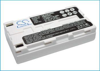 Topcon FC100 FC-100 FC-120 FC-200 FC2000 F 2200mAh Replacement Battery