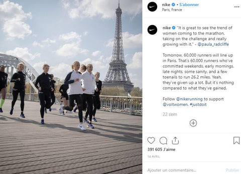 photo client instagram nike